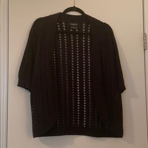 Liz Claiborne Knit Cardigan Shrug